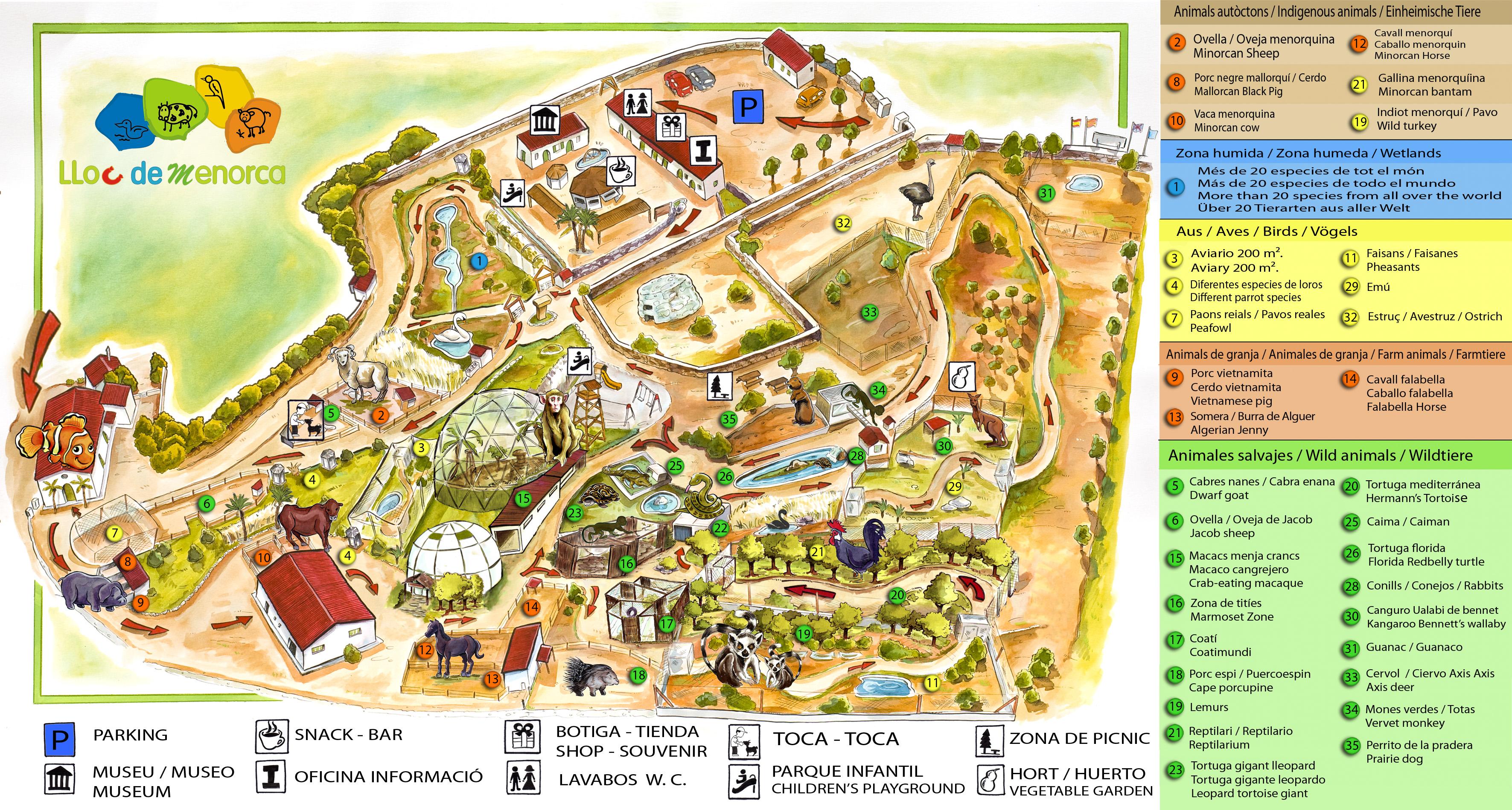 Menorca Zoo Loc de Menorca