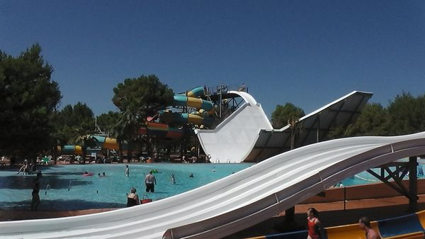 Slides and Wave Pool