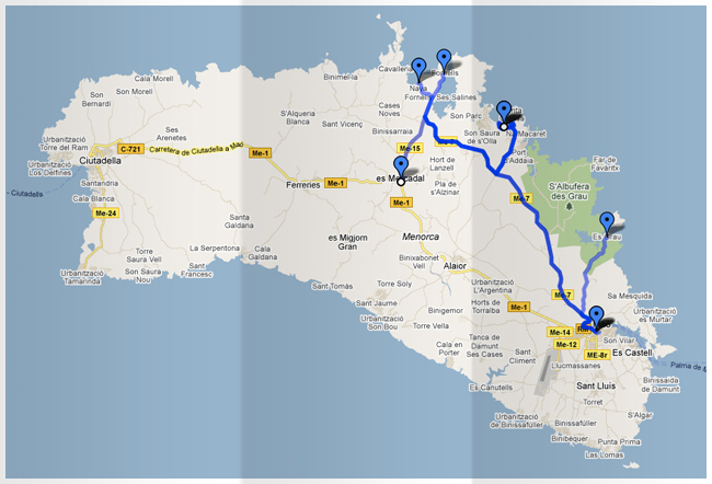 Fornells Bus Times Menorca Guide 2014