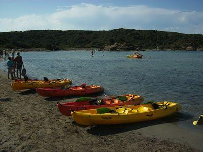 Kayaking on Menorca